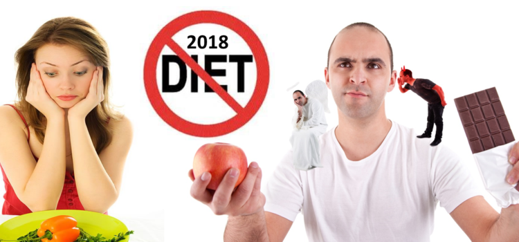 Ditch the Diet and make 2018 your healthiest, happiest and fittest year ever!